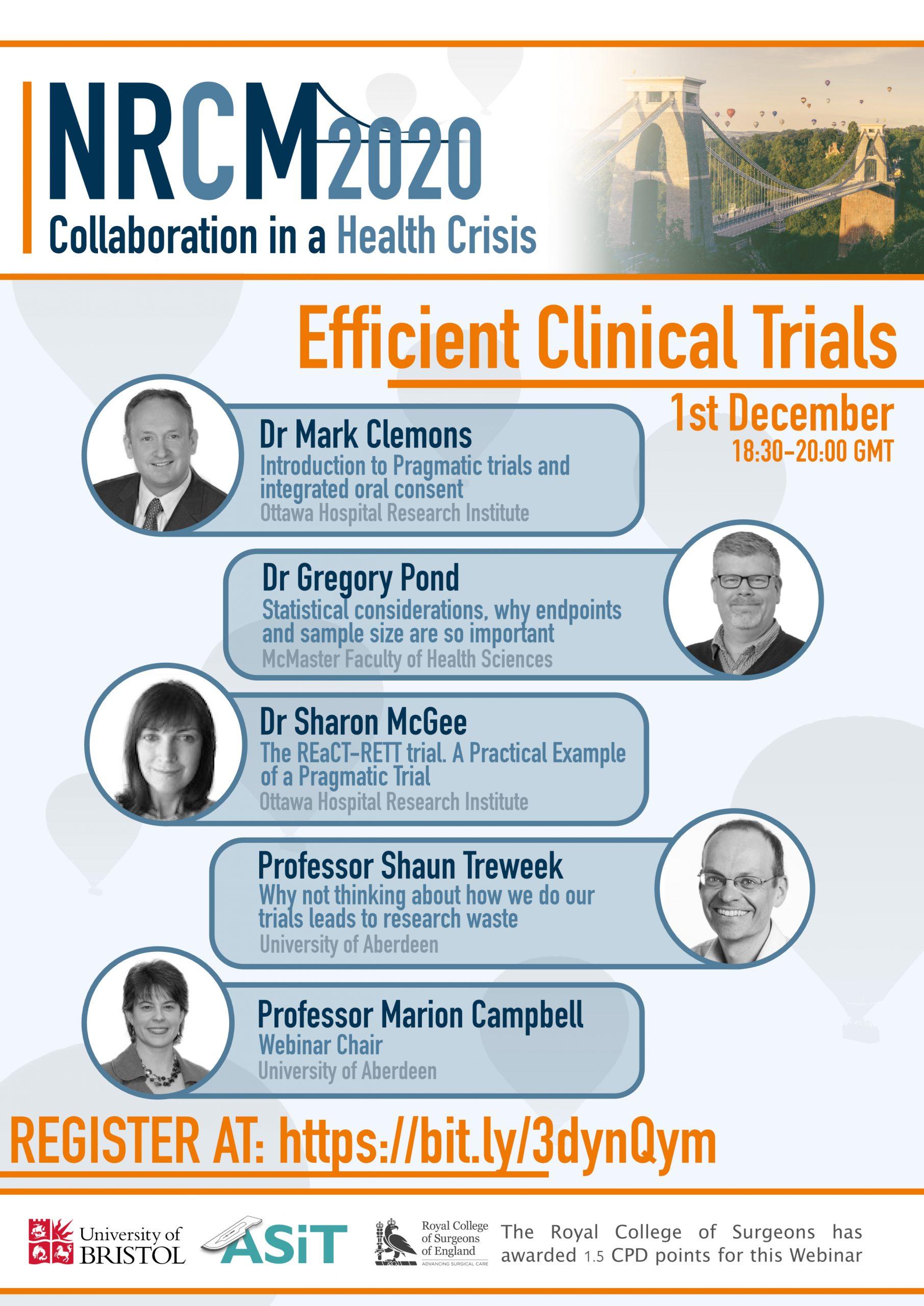 Efficient Clinical Trials